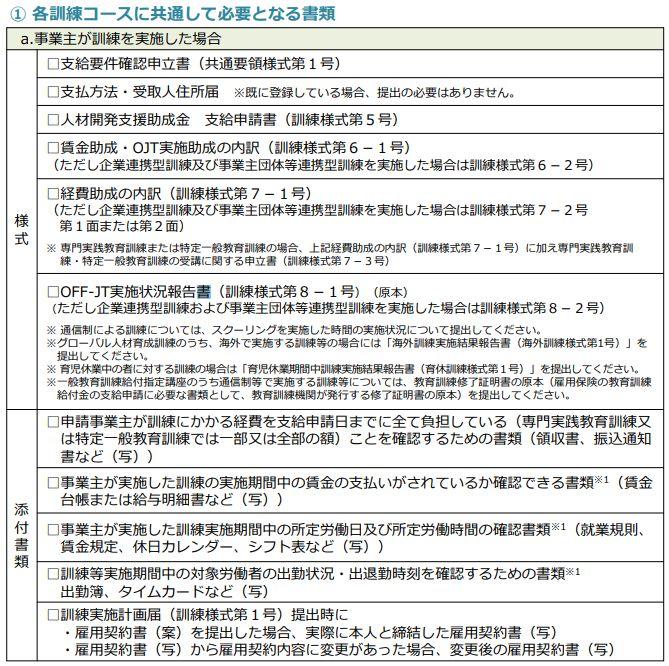 画像引用:「人材開発支援助成金のご案内(詳細版)」29p