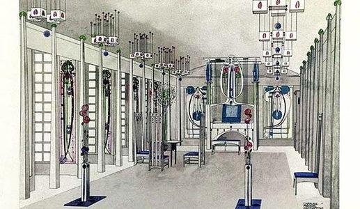 マッキントッシュのモダニズム建築がドイツモダニズム建築に与えた影響