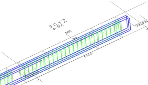 鉄筋コンクリート⑪鉄筋の積算・施工図作成その3(S造編)